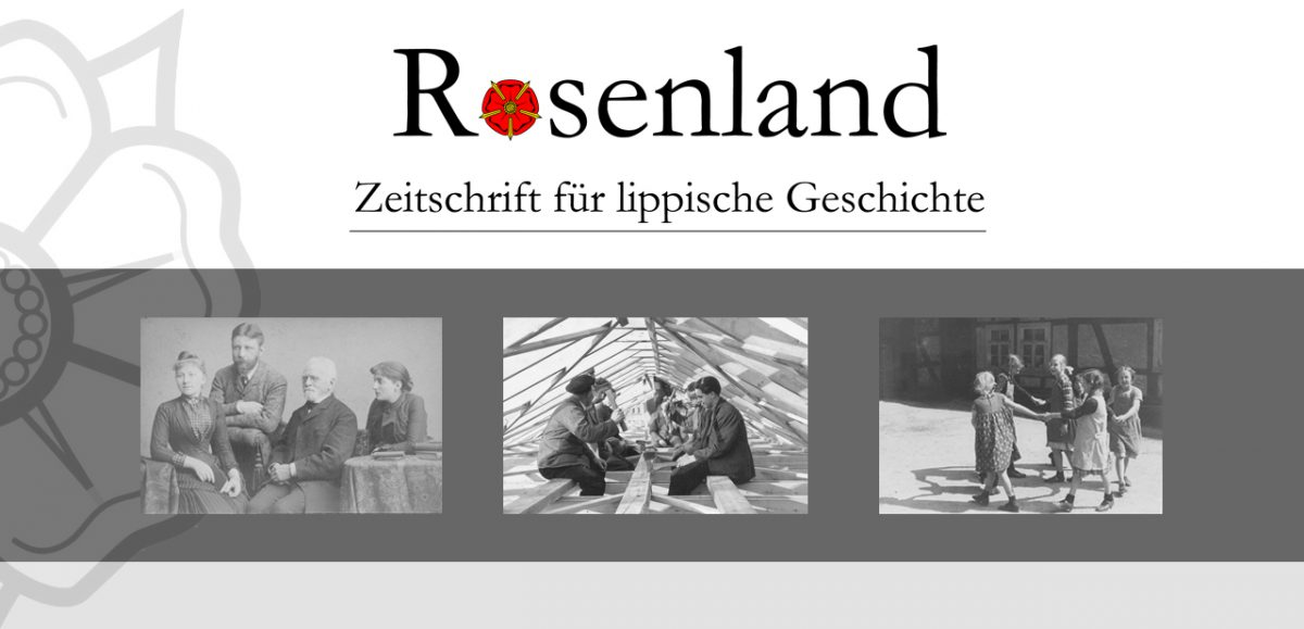 Rosenland. Zeitschrift für lippische Geschichte